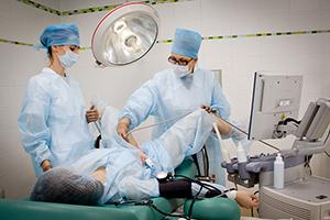 Хирургическое разделение синехий