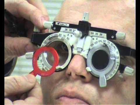 Исследование остроты зрения